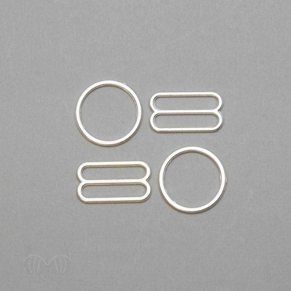 rings & sliders silver