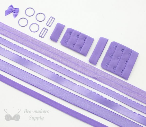 Ruby findings kit lilac