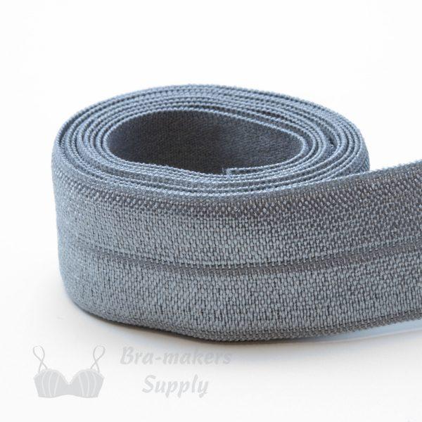 foldover elastic grey