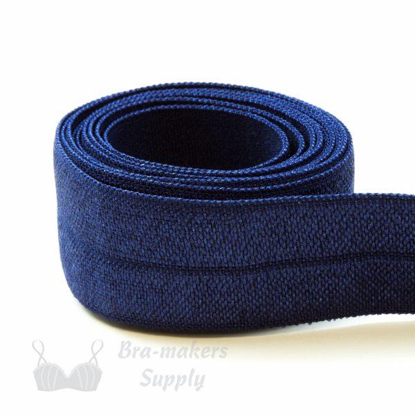 foldover elastic navy